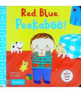 Red, Blue, Peekaboo! (Felty Flaps)