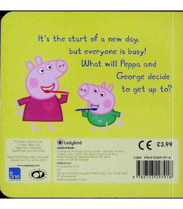 Busy! Busy! Busy! (Peppa Pig) Back Cover