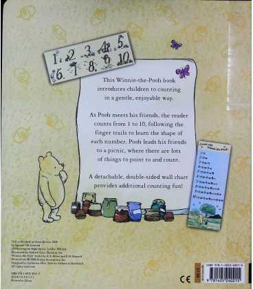 Counting Fun with Winnie-the-Pooh Back Cover