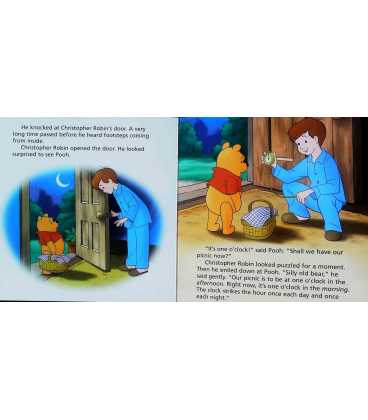 Pooh Tells the Time Inside Page 1