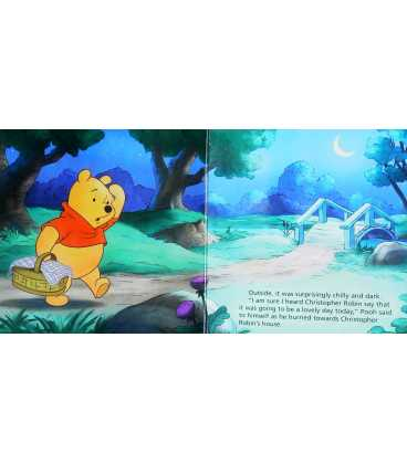 Pooh Tells the Time Inside Page 2