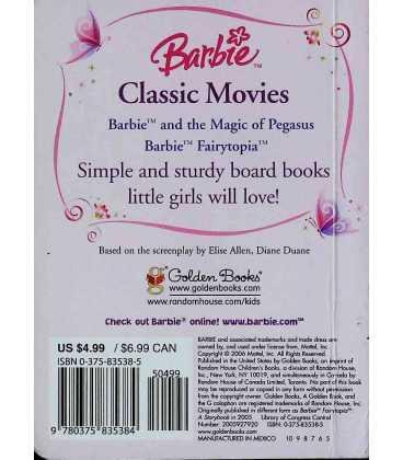 Barbie: Fairytopia Back Cover