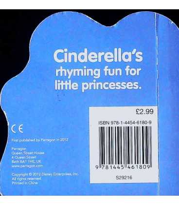 Cinderella Rhymes Back Cover