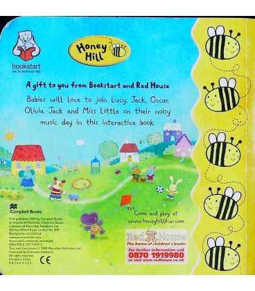 Noisy Day (Honey Hill) Back Cover