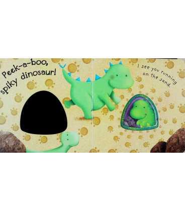 Peek-a-boo Dinosaur Inside Page 2