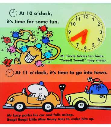 The Mr. Men Clock Book Inside Page 1