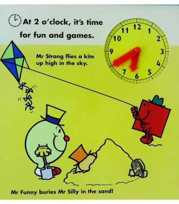 The Mr. Men Clock Book Inside Page 2