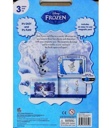 Disney Frozen Back Cover