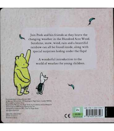 Weather (Winnie-the-Pooh) Back Cover