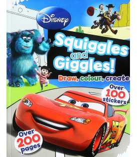 Disney Squiggles and Giggles! Draw, colour, create