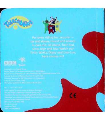 Teletubbies Po's Scooter Back Cover