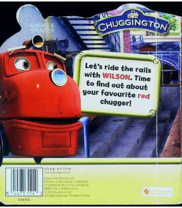 Chuggington Wilson Back Cover