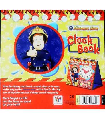 Clock Book (Fireman Sam) Back Cover