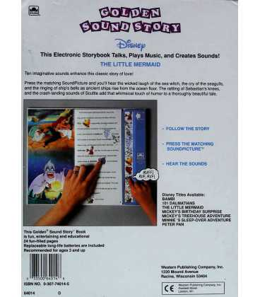 The Little Mermaid Back Cover