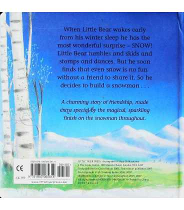 Snow Friends Back Cover