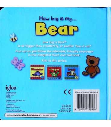 Bear Back Cover