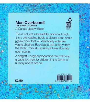 Jigsaw Book: Man Overboard Back Cover