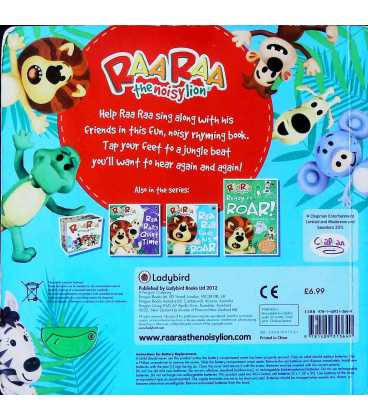 Raa Raa the Noisy Lion: Jingly Jangly Jungle Song Back Cover