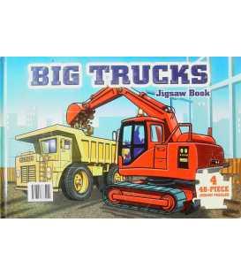 Big Trucks Jigsaw Book