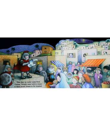 The First Christmas: With Catholic Scripture (Little Bible Playbooks) Inside Page 2
