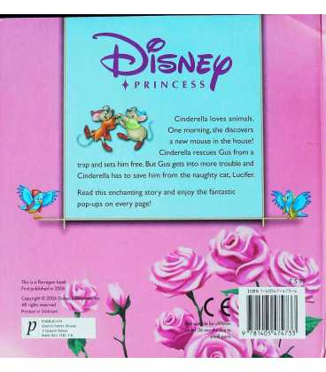 Cinderella to the Rescue Back Cover