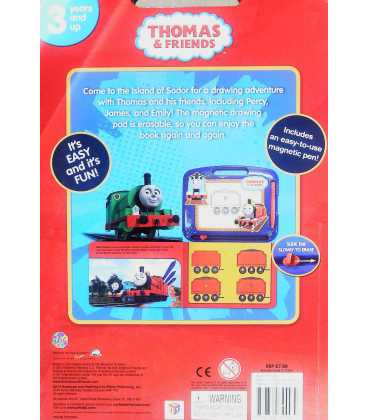 Spills & Thrills (Thomas & Friends) Back Cover