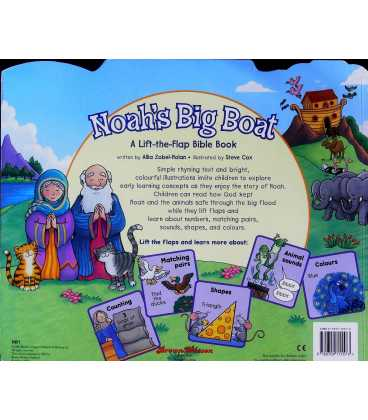 Noah's Big Boat Back Cover