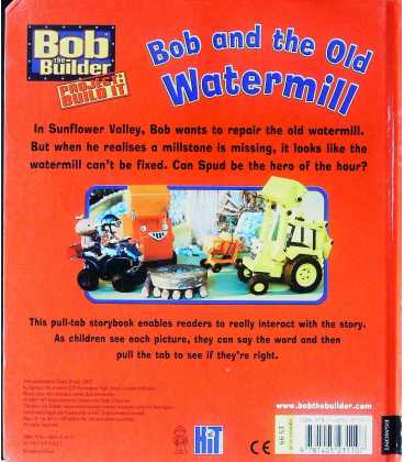 Bob and the Old Watermill (Bob the Builder) Back Cover