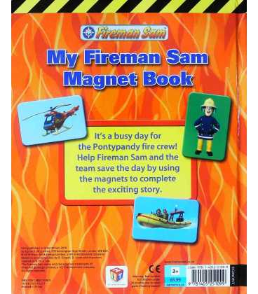 My Fireman Sam Magnet Book Back Cover