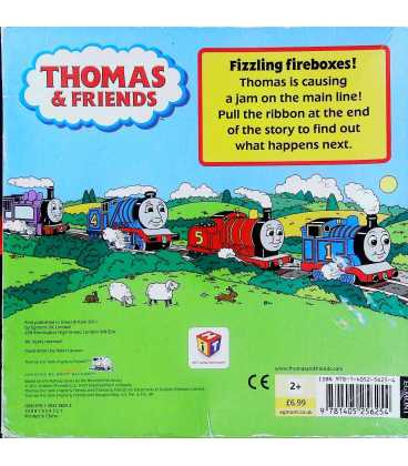 Thomas and the Traffic Jam Back Cover