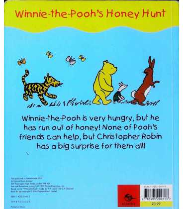Winnie-the-Pooh's Hunny Hunt Back Cover
