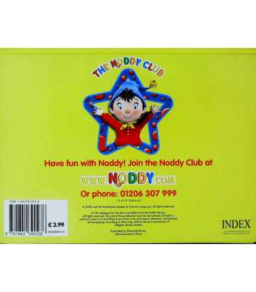 Noddy Wishes on a Star Back Cover