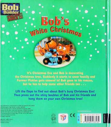 Bob's White Christmas Back Cover