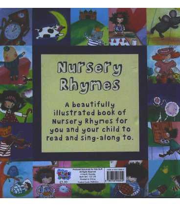 Nursery Rhymes Back Cover