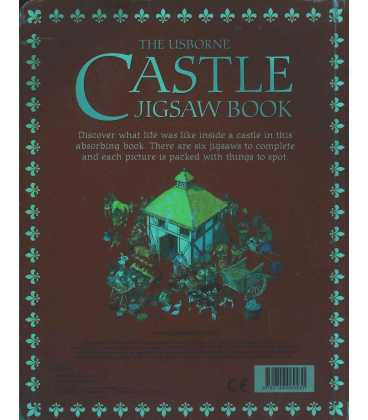 The Usborne Castles Jigsaw Book Back Cover