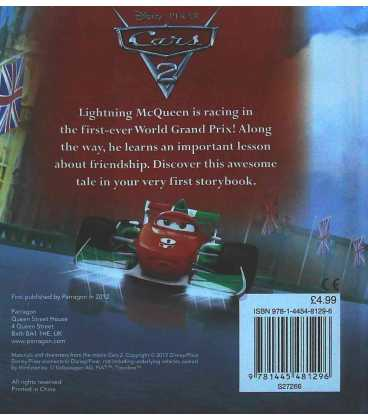 Disney Cars 2 - My First Storybook Back Cover