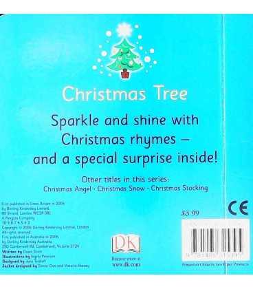 Christmas Tree Sparkle Book (Christmas Sparkles) Back Cover