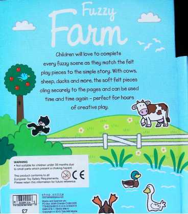 Fuzzy Farm Back Cover