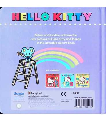 Hello Kitty: Colours Back Cover