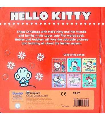 Hello Kitty: Christmas! Back Cover