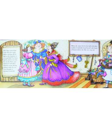 Cinderella: A Sparkling Fairy Tale Inside Page 2