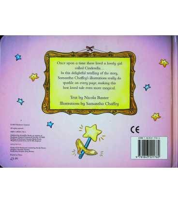 Cinderella: A Sparkling Fairy Tale Back Cover