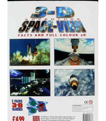 3-D Adventure Space-view Back Cover