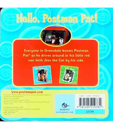 Hello, Postman Pat! Back Cover