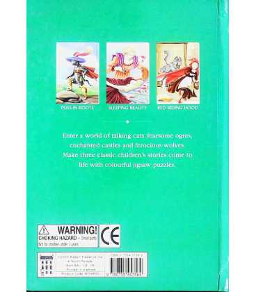 Fairy Tales Classic Tales Jigsaw Book Back Cover