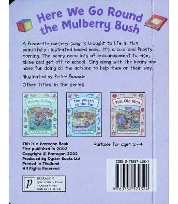 Here We Go Round the Mulberry Bush Back Cover