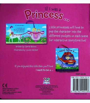If I Was a Princess (Pop-It Pocket) Back Cover