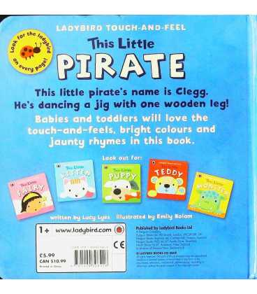 Ladybird Touch and Feel This Little Pirate Back Cover