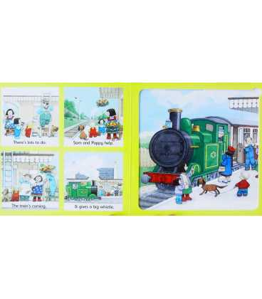 The Steam Train Jigsaw Book Inside Page 1