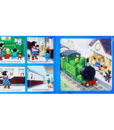 The Steam Train Jigsaw Book Inside Page 2